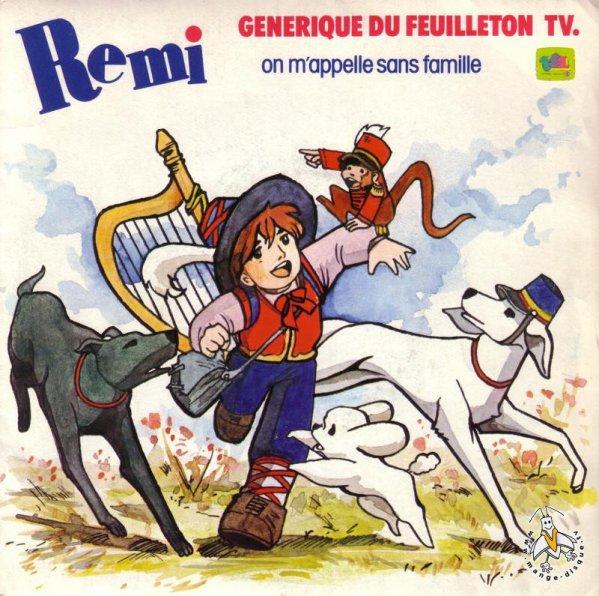 Rémi sans famille - Générique - 45T - 1982