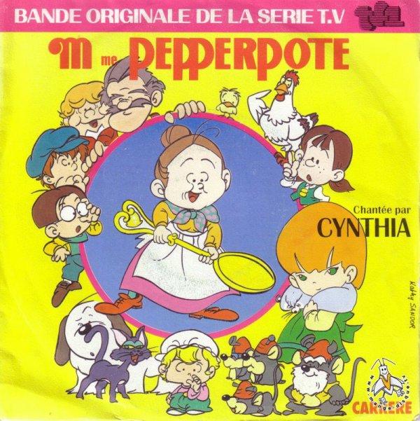 Madame Pepperpote - Générique - 45T - 1986