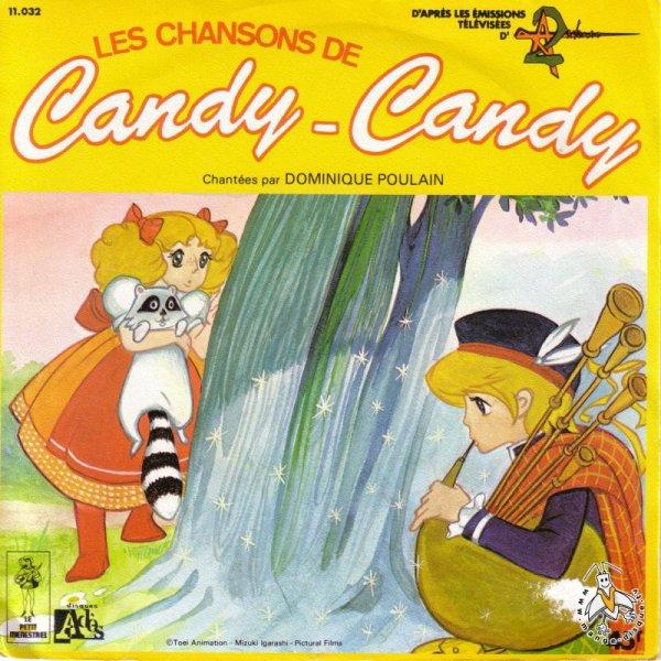 Candy - Chansons de Candy - 45T - 1979