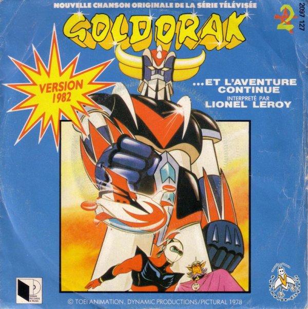 Goldorak - Générique - Lionel Leroy - 45T - 1982