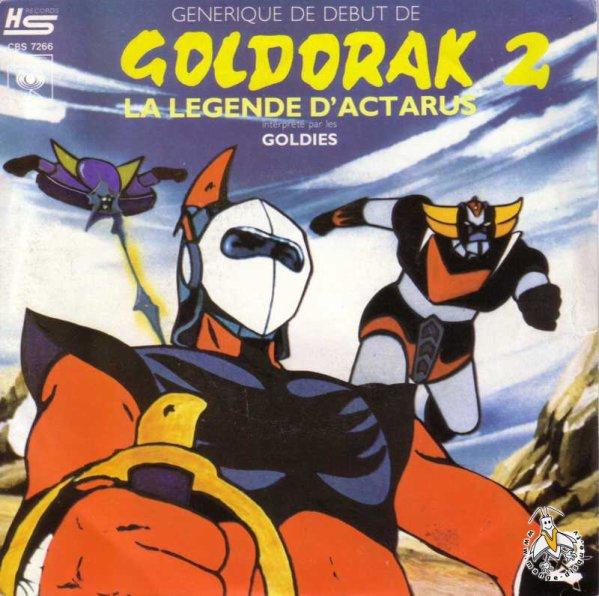 Goldorak - La légende d'Actarus - 45T - 1979