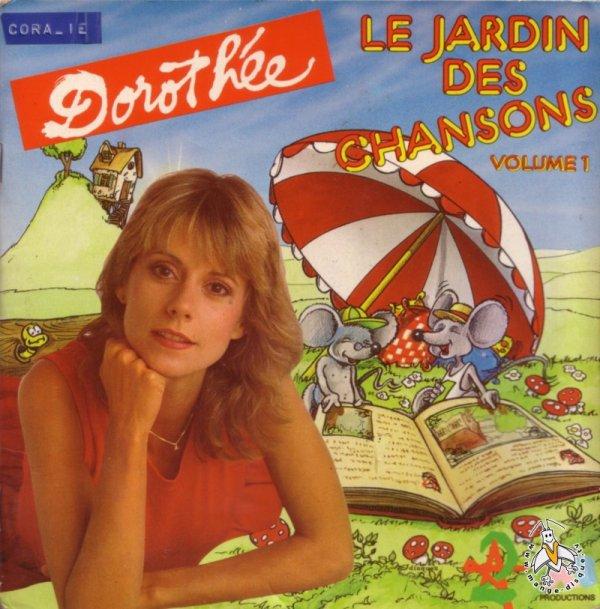Dorothée - Le Jardin des Chansons - 45T - Livrets