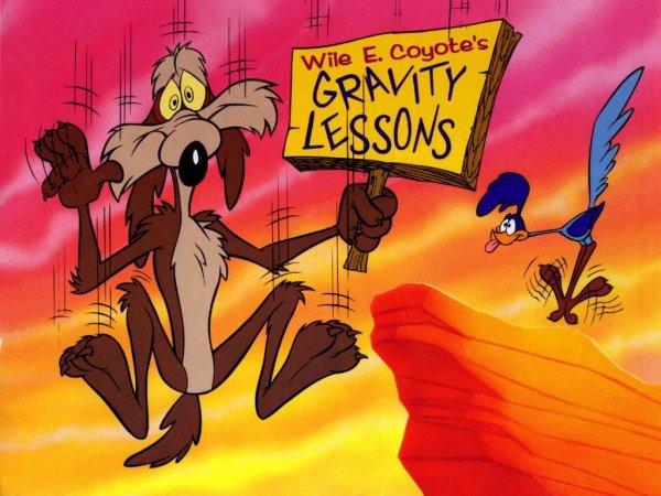 Fond d'écran Bip Bip et Coyote