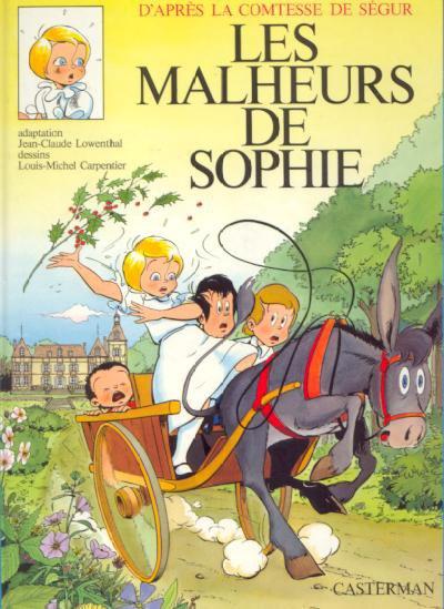 Les Malheurs de Sophie - Bande Dessinée - 1975