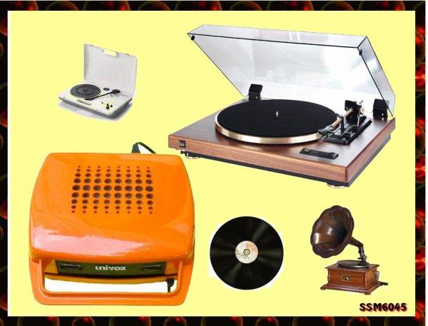 Objets et Accessoires de mon enfance - écouter des disques