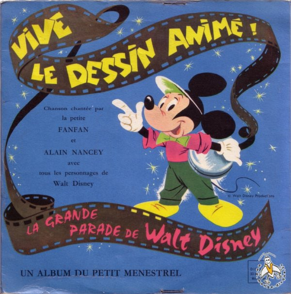 Emission Disney Parade - Générique - 33T - ?