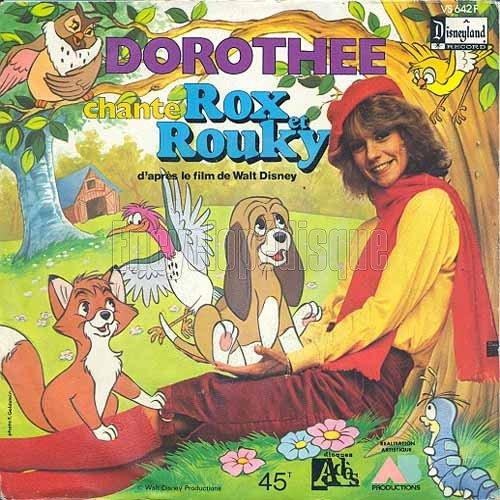 Dorothée - Rox et Rouky - 45T - 1981
