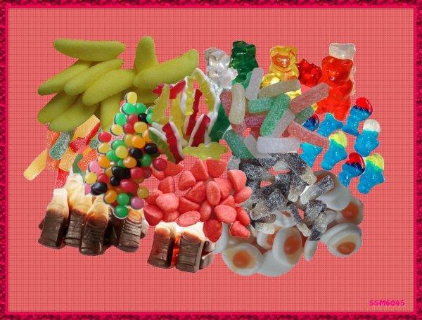 Les Gourmandises de notre Enfance Bonbons Gélifiés  Méli-mélo