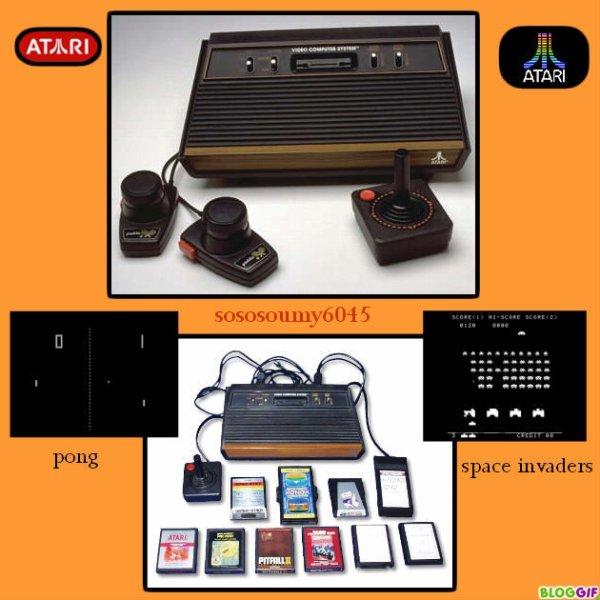 Consoles de jeux - Atari 2600 - 1977