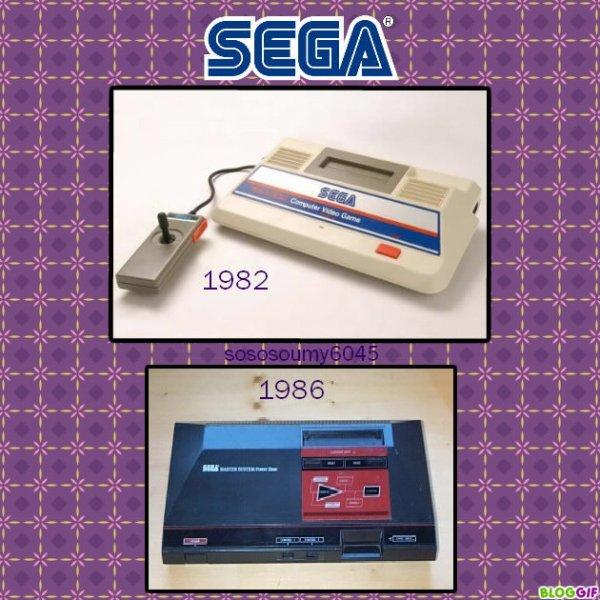 Consoles de Jeux vidéo SG-1000 (1983) et Sega Master System (1986)