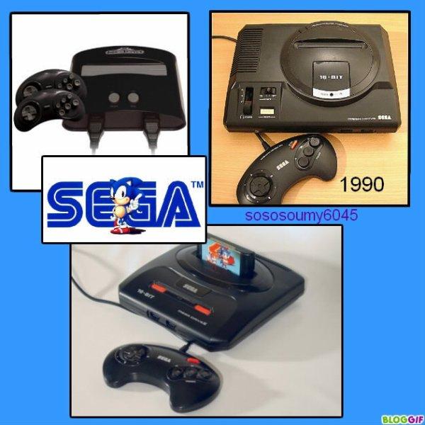 Console de Jeux vidéo MEGA DRIVE : 1990