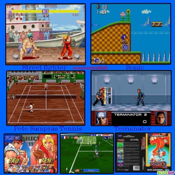Jeux Vidéo des consoles des années 90