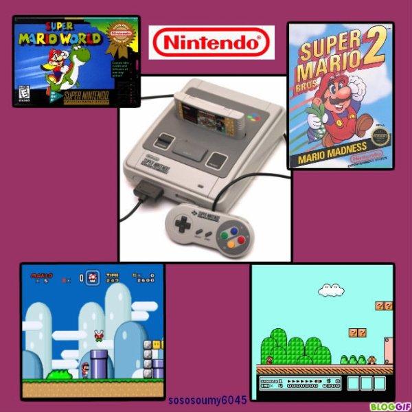 Console de jeux vidéo Super  Nintendo - 1992