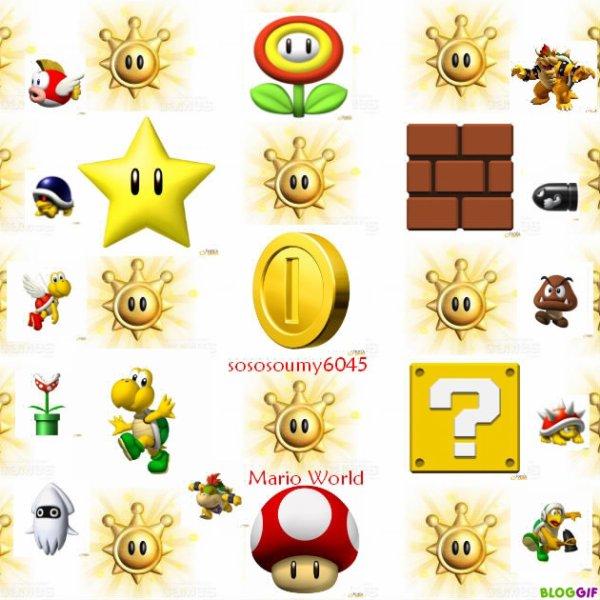 Ma Création sur Mario World