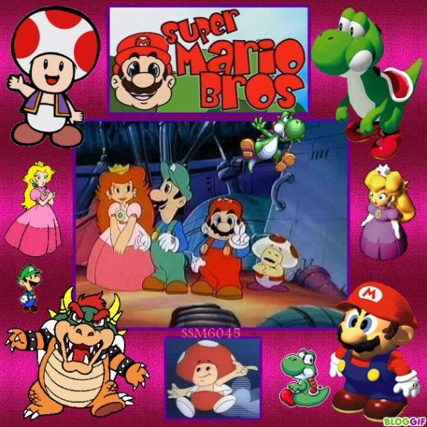 Ma création sur Mario en Dessin Animé