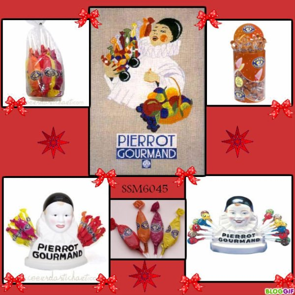 Sucettes Pierrot Gourmand - Histoire