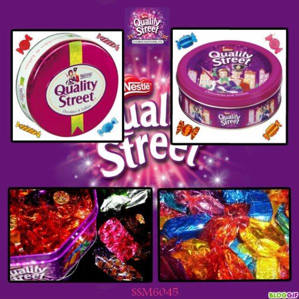 Ma création sur les Gourmandises de notre Enfance - Quality Street
