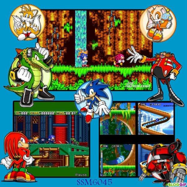 Ma Création sur Sonic Le Jeu