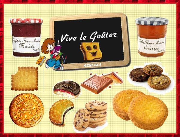 Souvenirs Gourmands de notre Enfance - Les Gâteaux - Le Goûter