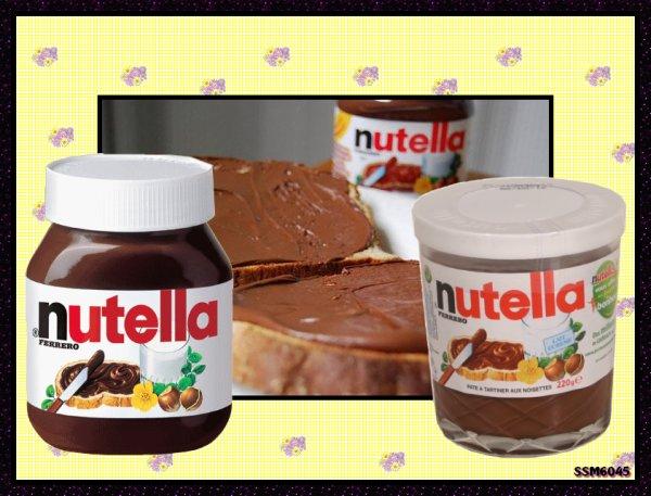 Souvenirs Gourmands de notre Enfance - Le Nutella