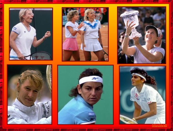 Les Grandes Figures du Tennis des Années 70 - 80