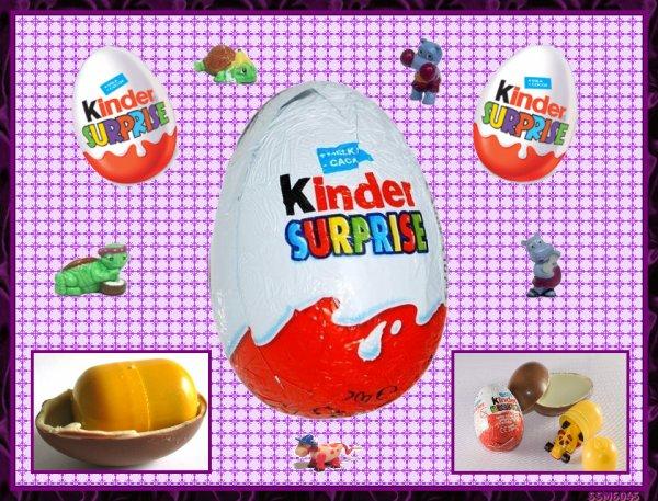 Les Gourmandises de notre Enfance - Oeuf Kinder