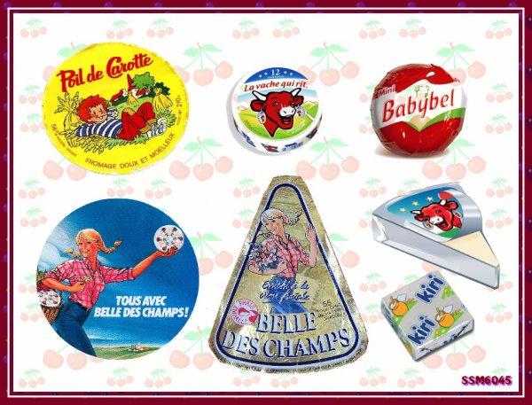 Souvenirs Gourmands de notre Enfance - Les Fromages