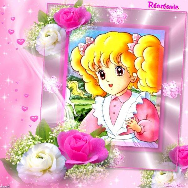 Mes créas Récréavie - Candy - Gwendoline - Manga