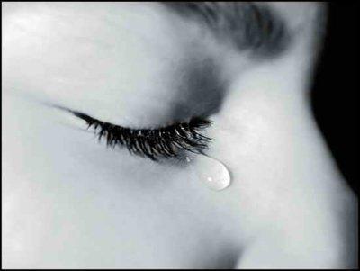 Rien ne sèche plus vite qu'une larme.