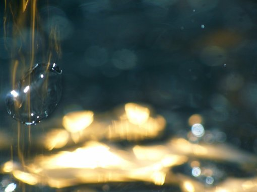 Les caprices de L'eau.