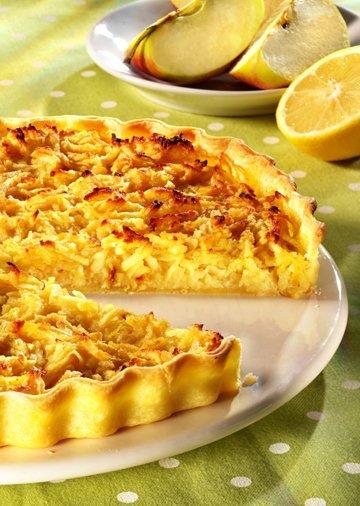 Tarte Pommes râpées Citron !