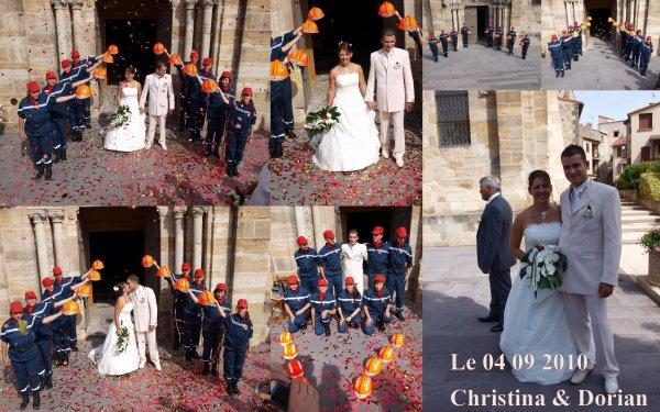 Mariage de Christina et Dorian