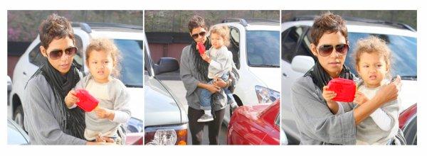 Le 10 novembre Nahla et sa maman Halle sont allées fairent du shopping à beverly Hills