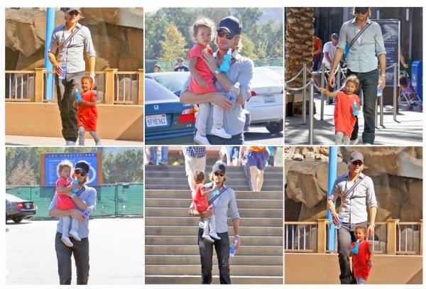Le 3 novembre Nahla et son papa Gabriel sont allée au Zoo de Los Angeles