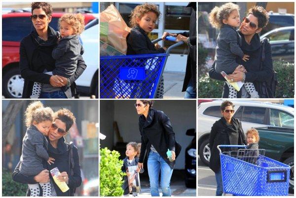 Le 28 février Nahla et sa maman Halle sont allés faire quelque course à Los Angles