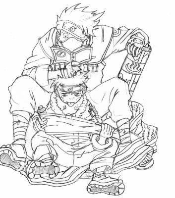 Naruto kakashi shoo blog dessins d - Dessin kakashi ...