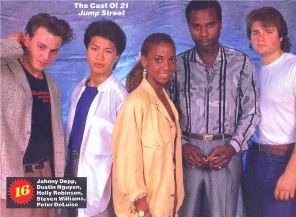 21 jumpstreet ( série des année 80.90 )