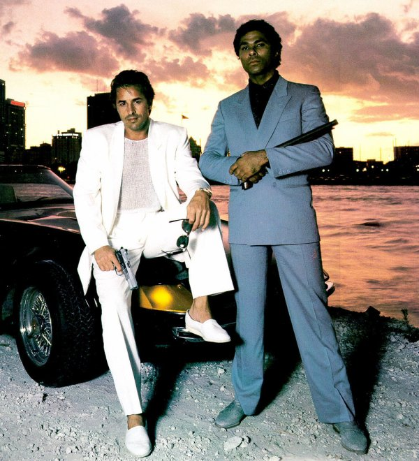 Don Johnson et Philip Michael Thomas