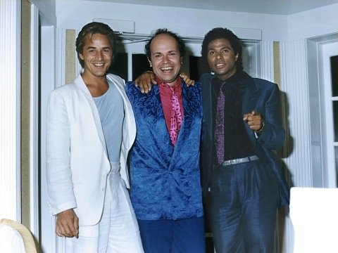 Don Johnson, Jan Hammer et Philip Michael Thomas (1984)