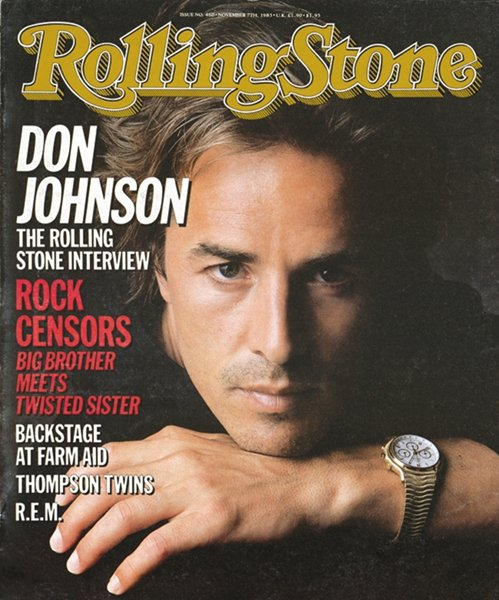 Rolling Stone Cover of Don Johnson