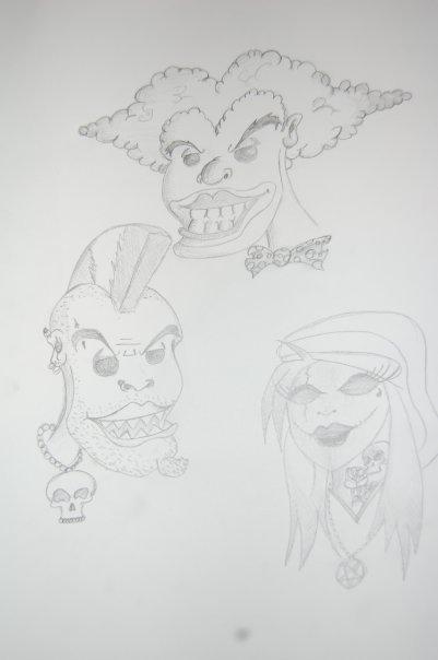 Quelques personnages !