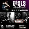 Concert à Paris ♀ GIRLS WILL ROCK YOU ♀ 26 / 27 mars