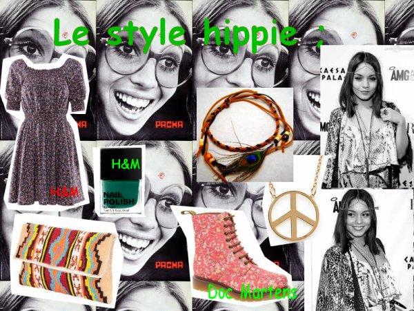 Quel est ton propre style? 1# le style hippie.