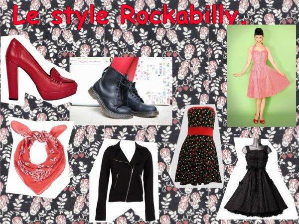 Quel est ton propre style? 2#le style rockabilly