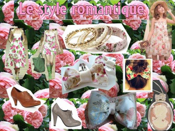 Quel est ton propre style? 4#Le style romantique.
