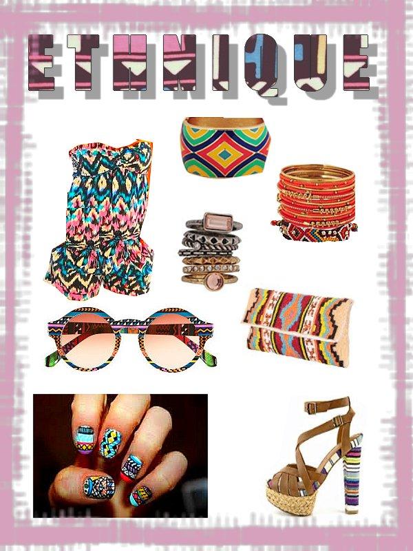 Style Ethnique - Aztèque.