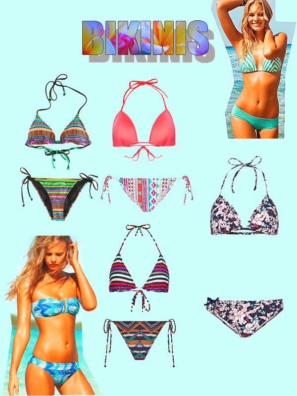 C'est le printemps! Voici une petite sélection de bikinis! ^^
