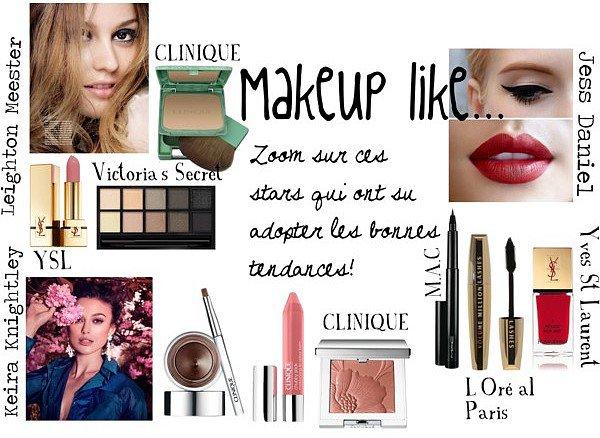 Makeup. :-)