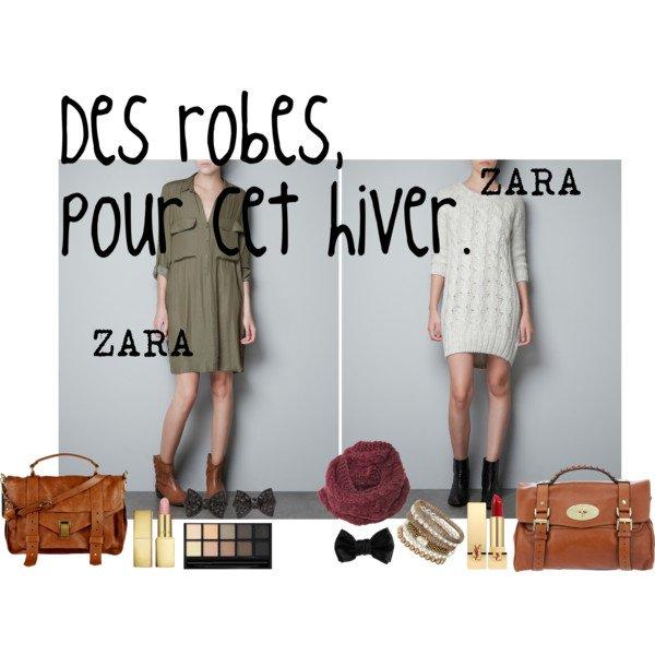 Des petittes robes sympa de chez Zara! :-)
