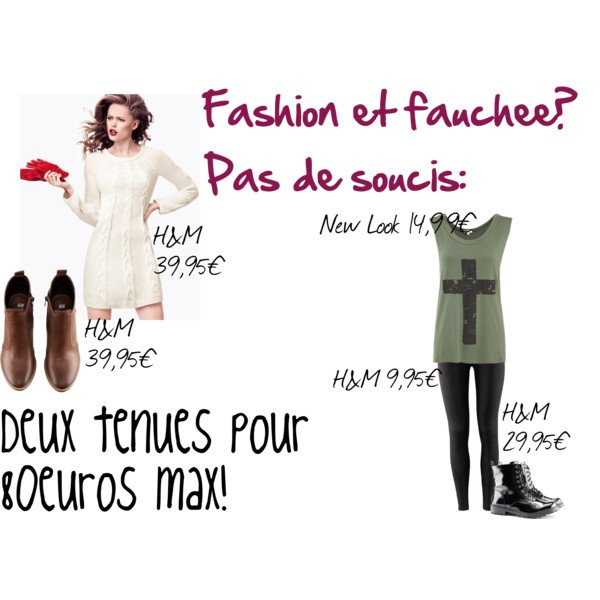 Fashion mais fauchée!
